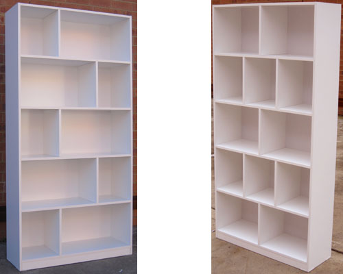 Pigeon hole bookcases