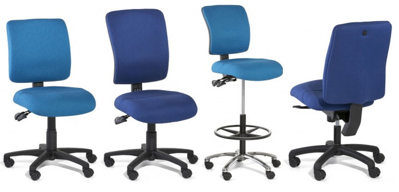 BOXTA - office chairs by Gregory