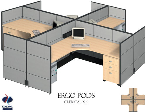 Ergo Pod Workstations