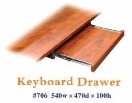 Keyboard drawer